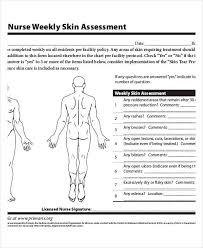 Sample Skin Assessment Wiring Diagram General Helper