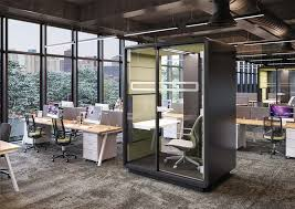 Achieving Privacy in the Open Plan Office - Hunt Office Interiors