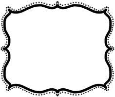 8 Fancy Paper Border Designs Images Fancy Frame Borders Black