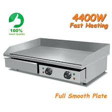 amazing countertop electric griddle or reviews 73cm 44kw commercial electric griddle countertop kitchen hotplate stainless steel