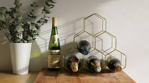 Small wine racks Bottle Wine The Best Tabletop Wine Racks For Small Kitchens Vinepair The Best Tabletop Wine Racks For Small Kitchens Vinepair