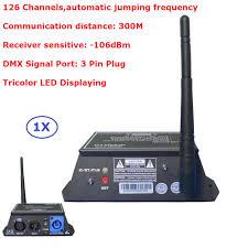 Disco Light Controller 2 4g Wireless Dmx 512 Controller Transmitter Receiver Led
