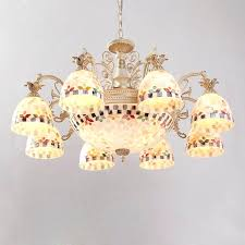 chandeliers holiday chandelier shade charming shell lamp impression with a unique style and luxury light
