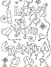 wonderful happy fathers day grandpa coloring pages pagendpa blank who arted