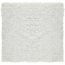 city sheen white 6 ft x 6 ft square area rug