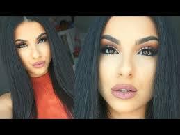 fall glam makeup tutorial fall autumn 2016