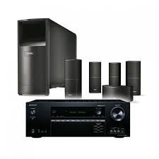 onkyo home theater system. onkyo tx-sr444 + bose acoustimass 10 v bundle package home theater system