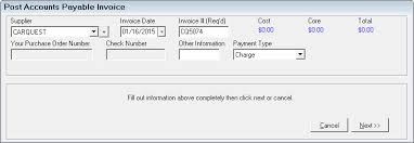 Type Of Invoices Posting Invoices By Detail