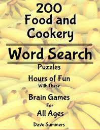 Food and Cookery Word Search Puzzles - by Dave Summers on Booklaunch.io |  Booklaunch.io