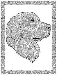 Dog Coloring Pages For Adults Printable Coloring Pages