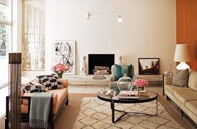 layered plain and patterned average size area rug in beige living pertaining to average size area