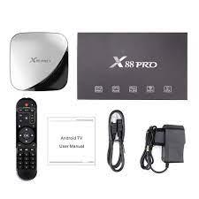 X88 Pro Air Smart TV Box Android 9.0 4K 4/32GB - Black - JakartaNotebook.com