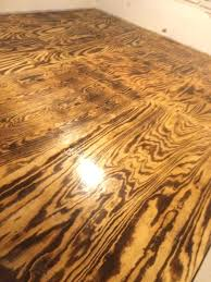 another picture of our torched plywood flooring best for thickness attic