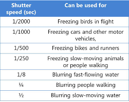 Shutter Priority Mode When And How To Use It And When To