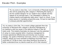Elevator Pitch Examples For Students Elevator Pitch Examples For Students Digital Event Info
