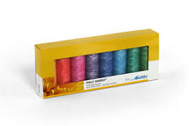 Details About Mettler Poly Sheen 100 Polyester Pastels 8 Pack Sewing Thread Embroidery Crafts