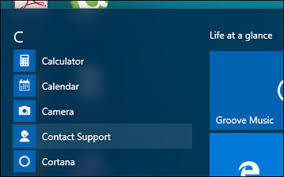 Start Contact Support Solution 1 Activate Windows 10 License Via
