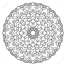 Small Picture Symmetrical Circular Pattern Mandala Oriental Coloring And Pages