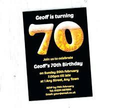 Funny 70th Birthday Invitation Wording Birthday Invitations Funny