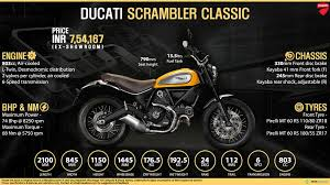 ducati scrambler price specs review pics mileage in india