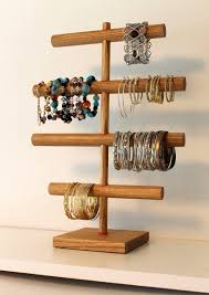 wooden bangle stand 19 best craft show images on jewelry displays