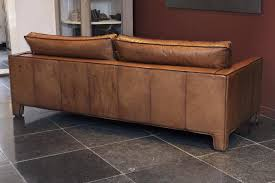comfortable leather sofa. Exellent Comfortable Dutch Comfortable Modern And Sleek Calfskin Leather ThreeSeat Sofa  Couch  For Sale On Comfortable
