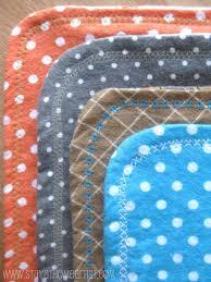 stayathomeartist com reversible flannel receiving blankets with diy fleece baby blanket