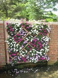 diy flower garden garden fence ideas with flowers