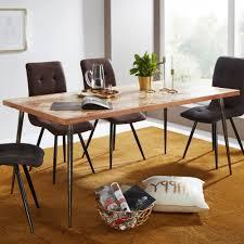 Holztisch Industrial Beistelltisch 35 X 45 X 35 Cm Sheesham Holz
