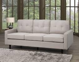 3 seater tufted sofa grey canada