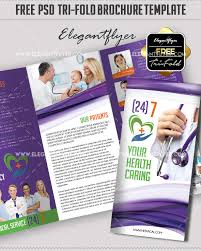 Medical Brochures Templates New 48Premium And Free PSD TriFold BiFold Brochures Templates For