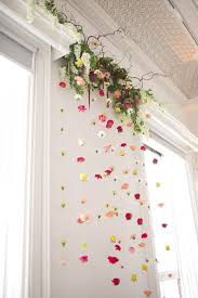 flower wall decor 151 best hanging flowers backdrops images on