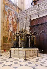 was christopher columbus an imperialist writework english the tomb of christopher columbus seville cathedral spain francais tombeau