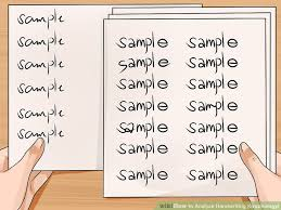 writing analysis 2 clear and easy ways to analyze handwriting graphology
