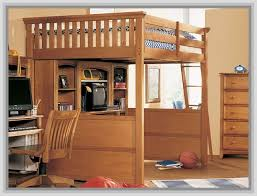 ... Attractive Full Size Loft Bed With Desk 17 Best Images About Loft Bed  With Desk Underneath ...