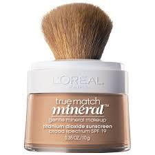 l oreal paris true match naturale gentle mineral makeup clic beige 0 35