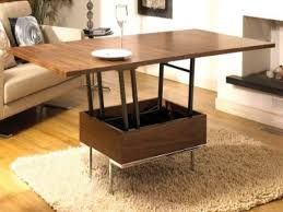 Space Saving Coffee Table Furniture Expandable Sofa Table Coffee Table Converts To Dining