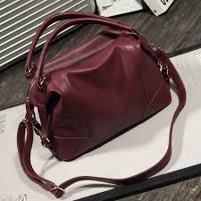women s handbag female pu leather bags handbags las portable shoulder bag office las hobos bag totes