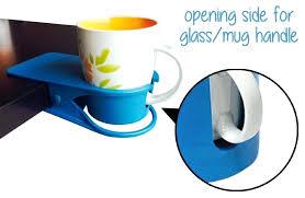 desk cup holder big size table drink clip office desk cup holder