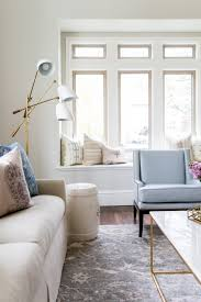 studio living room furniture. Blue Chair In Front Of Built Daybed Studio Living Room Furniture O