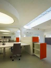 open plan office design ideas. open plan office with orange drawer openplanoffice design ideas