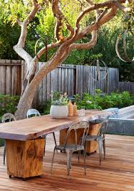 cool patio furniture ideas. Astounding Outdoor Dining Room With Table Fire Pit : Charming Image Of Furniture Cool Patio Ideas 0