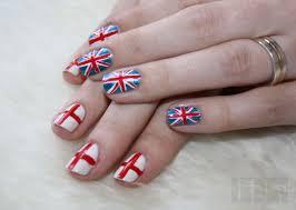 England Flag Nail Designs Great Britain Vs England Nail Art By Me D Nails Nail