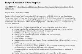 Document Template : Free Construction Bid Proposal Template ...