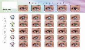 Contact Lenses Colour Chart Color Lens Coloured Lenses Cosmetic Lens Eye Wear Id
