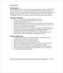 junior copywriter job description copywriter job description