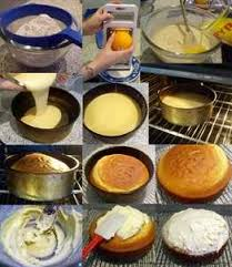 process essay how to make a cake