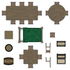dining table top view png. dining table top view png