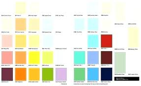 Sears Paint Color Chart Exterior Paint Colors Chart Tubon Info