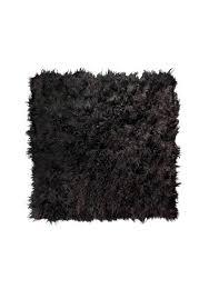 brown sheepskin rug x